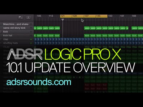 Logic Pro X 10.1 – New Features Overview