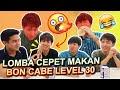 Download Video LOMBA MAKAN PAKE BONCABE WASEDA MANTAPPU BOYS PART 2!