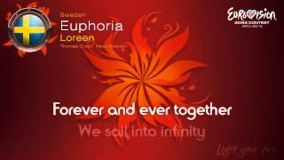 """Loreen   """"Euphoria"""" (Sweden)   [Karaoke Version]"""