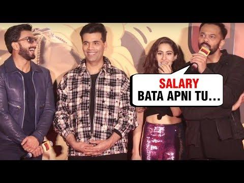 Rohit Shetty And Karan Johar INSULT A Reporter At