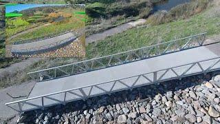 Waterfall Creek Footbridge - FPV cut with Cadxx Ratel