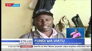 Kutana na kijana anayetengeza viatu vya buti Nyahururu
