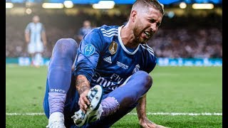 Sergio Ramos Crazy Tackles And Strongest Defensive Skills | HD