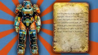 Fallout 4 - Atom Cats Power Armor Paint Guide