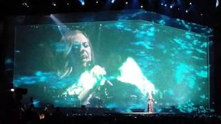 Adele sings wrong lyrics live at Manchester 2016. I miss you