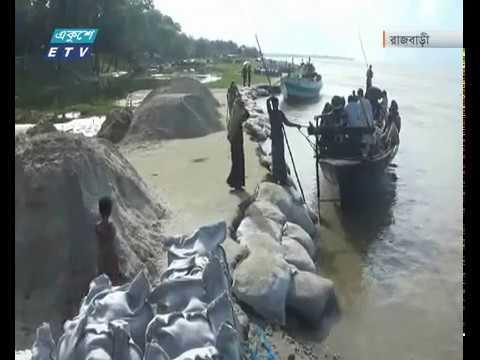 পনি কমলেও নদী ভাঙ্গন অব্যাহত