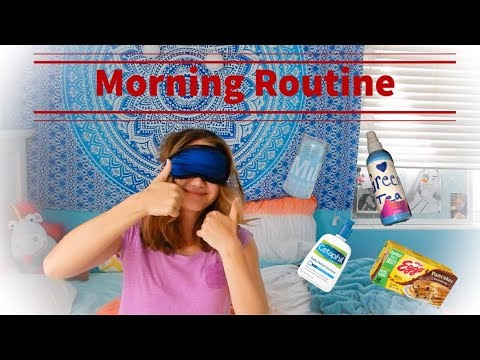 MY MORNING ROUTINE! (ACNE CURED!)