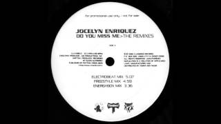 "Jocelyn Enriquez - Do You Miss Me (Freestyle Mix) 12"" The Remixes US 1996"