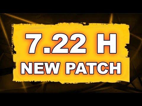Dota 2 NEW 7.22 H UPDATE - Main Changes!