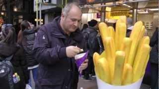 preview picture of video 'Frites (Fried Potato) - Amsterdam, The Netherlands 2012'