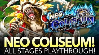 NEO COLISEUM DIAMANTE! All Stages Playthrough! (One Piece Treasure Cruise - Global)
