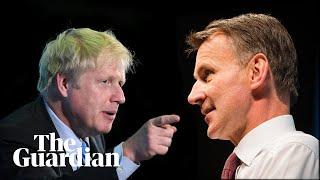 Boris Johnson & Jeremy Hunt take part in final Tory hustings – watch live