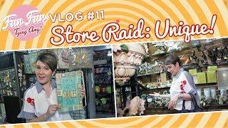 [Fun Fun Tyang Amy] Vlog 11 : Store Raid - Unique Novelties And Toys