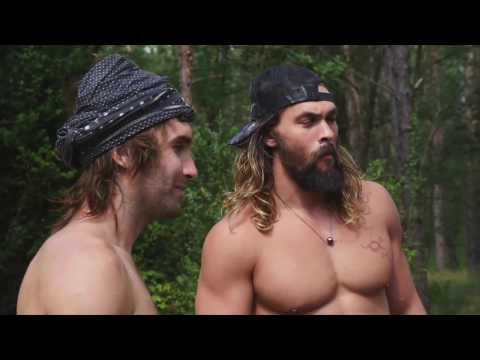 CHRIS SHARMA AND JASON MOMOA SAVASSONA ROAD TRIP