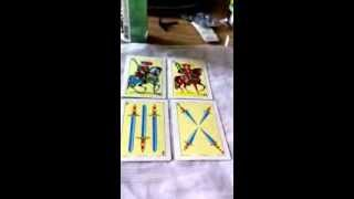 Spanish Tarot Card Reading 4/10/13