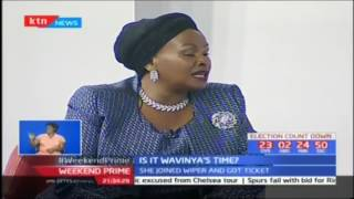 Wavinya Ndeti speaks on her bid for the Machakos gubernatorial seat [Part 2]