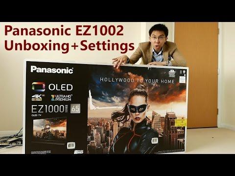Panasonic EZ1002/ EZ1000 OLED TV Unboxing + Picture Settings