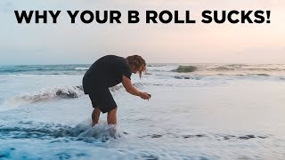 THE DIFFERENCE BETWEEN BEGINNER AND PRO B ROLL - Behind the Scenes Demonstration