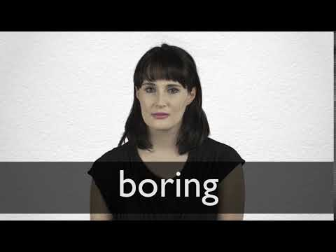 """French Translation of """"boring"""" 