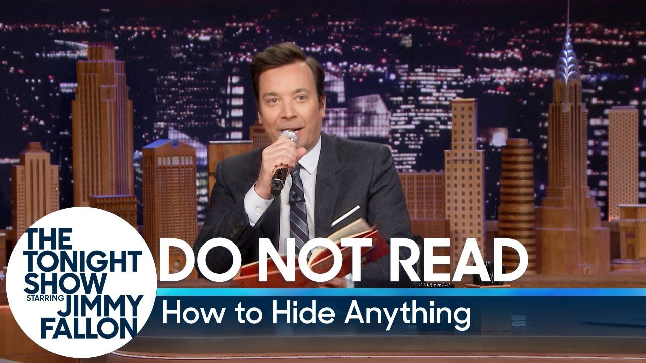 Do Not Read: How to Hide Anything thumbnail