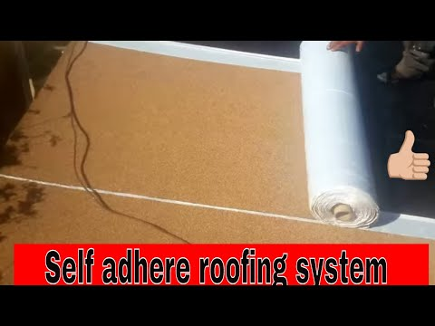 Self Adhere Roofing for flat roofs , SBS
