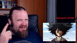 Monogatari SS Episode 8 Reaction - having fun in the past and still getting owned by Hanekawa