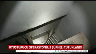 Konya'da villayı uyuşturucu imalathanesine çeviren 3 şüpheli tutuklandı