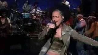 Alicia Keys Call me live at Letterman show 1