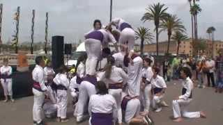 preview picture of video 'Falcons Capellades Barceloneta 2014'
