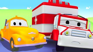Odtahové auto pro děti - Sanitka Amber