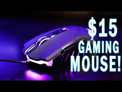 Can this $15 Mouse Actually Game? Gaming Mouse Review!