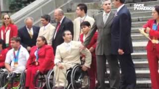 Leyendas del Deporte Mexicano - Saúl Mendoza, Fuerza pura sobre ruedas