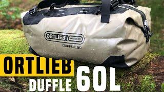 Ortlieb Duffle 60 - Packsack fürs Kanu, SUP oder Wassersport?