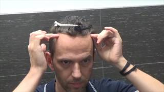 Glueing down your hair system