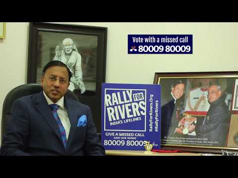 Padmashri Dr P Raghuram for Rally for Rivers