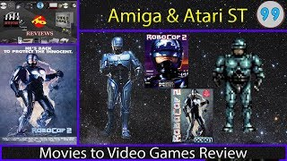 Movies to Video Games Review - Robocop 2 (Amiga and Atari ST)