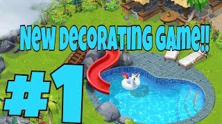 LOST ISLAND BLAST ADVENTURE Android / iOS Gameplay Trailer | Decorating First Area
