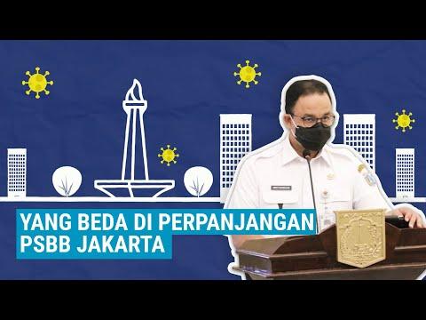Yang Beda di Perpanjangan PSBB Jakarta