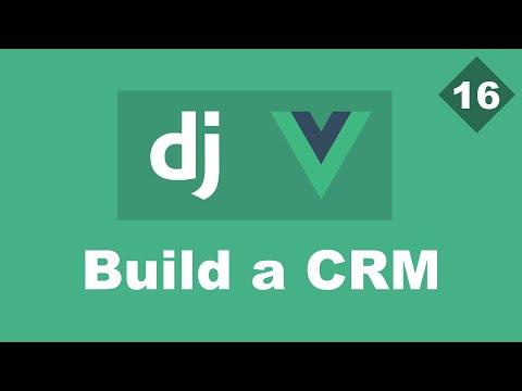 Deploying - Building a Simple CRM Using Django And Vue - Part 16 | Django Rest framework thumbnail
