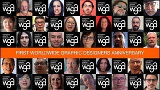 Happy 1st anniversary WGA – Worldwide Graphic Designers