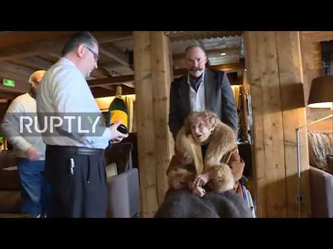 France: 102-year-old baroness casts her vote in Russian presidential election