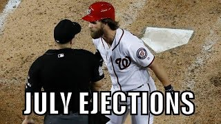 MLB | 2017 July Ejections ᴴᴰ
