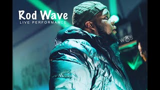 Rod Wave Does INSANE Live Performance With A Live Band