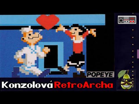 |Konzolová RetroArcha| Popeye - Zachraňte Olive