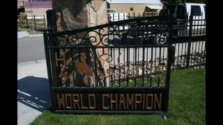 Chris LeDoux Memorial Park, Kaycee Wyoming!