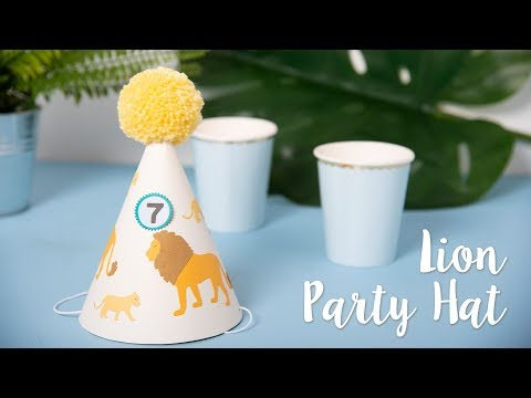 Lion Party Hat - Sizzix