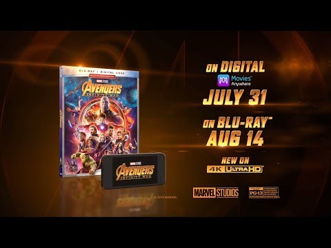 Avengers: Infinity War Blu-Ray - Official® Trailer [HD]