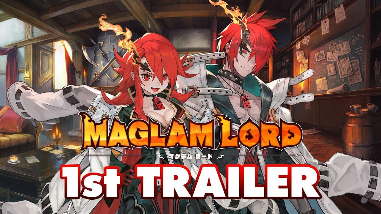 D3P新作《MAGLAM LORD》首段宣傳片公佈,本作預定於今冬發售,登陸PS4與Switch平台。 Maxresdefault