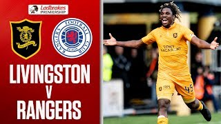 Livingston 1-0 Rangers | Menga Strike Shocks Rangers! | Ladbrokes Premiership