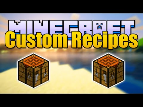 Minecraft PERSONALIZED RECIPES Mod - Make Your Own Recipes! (Minecraft v1.7.10 Mod Spotlight)
